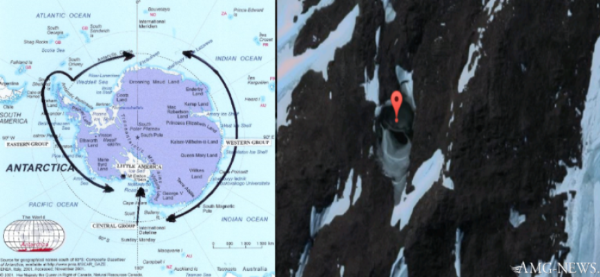 Two Underground Bases Found in Antarctica; What are They? (video)