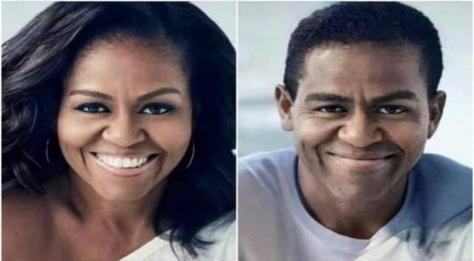 Michelle Obama Is a Man: Michael LaVaughn Robinson (video)