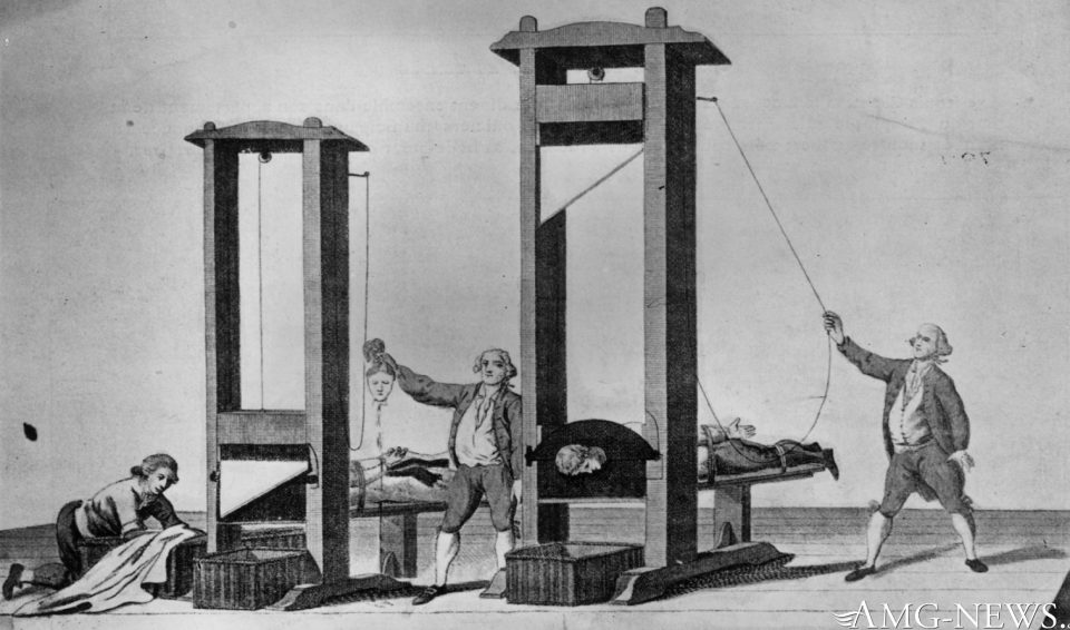 FEMA's Billing Code for Death by Guillotine is ICD 9 E 978 – Must-watch video