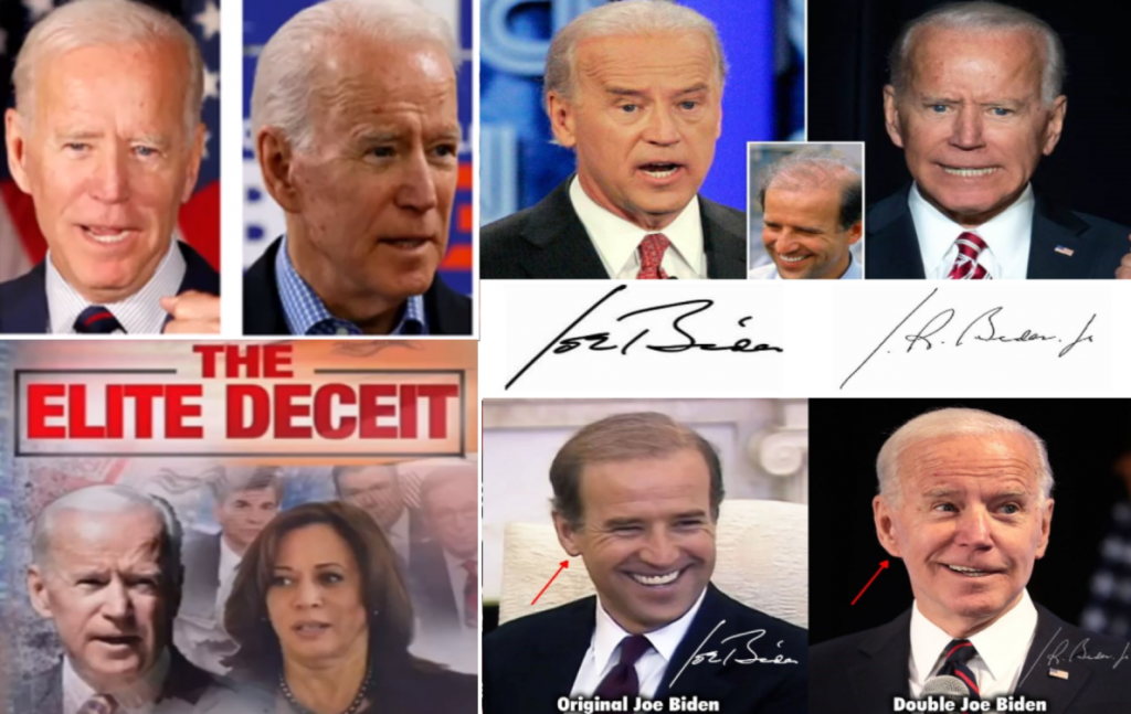 Joe Biden Clone   Clones, Doubles, Actors, Transvestites Hiding in Plain Sight, Holographic or CGI (video)
